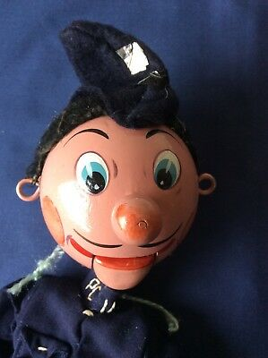 Vintage Pelham Puppet Sm Policeman Made In England A/f