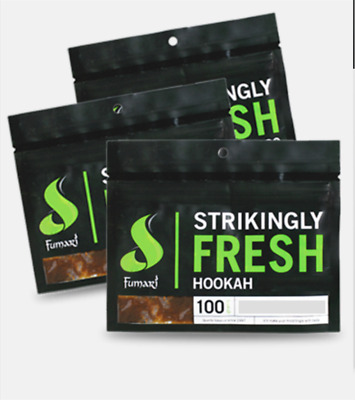 Fumari Hookah Various Flavours Available 100g Brand New Not Starbuzz