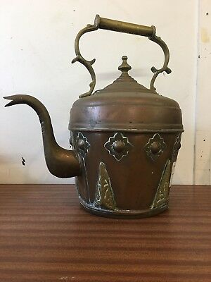 Antique Copper and Brass, Arts and Crafts Kettle