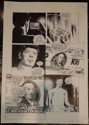 Chiller Marvel Jon Ridgway Original American Comic Art