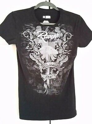f71343e55 NFL Womens Apparel Baltimore Ravens Tribal Graphic - Size Small S CH P T