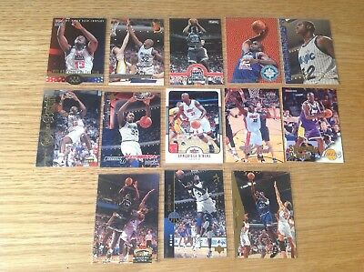 Lovely Lot Of Shaq NBA Basketball Trading Cards