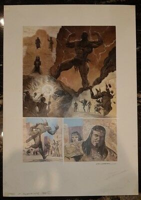 Tales Of Telguuth Carl Critchlon Original Comic Art A