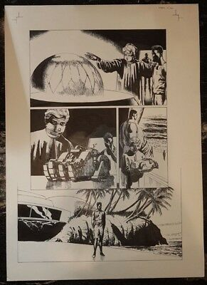 Chaos Jon Ridgway Marvel Original Comic Art