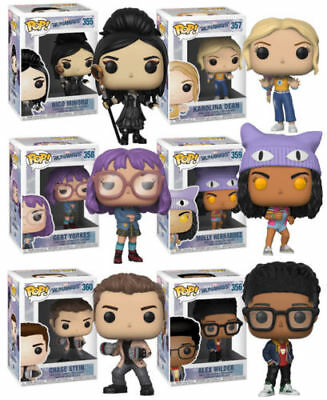 Marvel's Runaways Complete Set (6) Funko Pop!