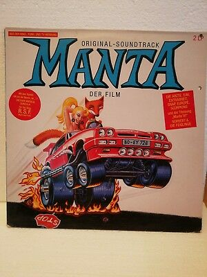 OST - Manta der Film Original-Soundtrack 2 LP BIEM/STEMRA 469177 von 1991