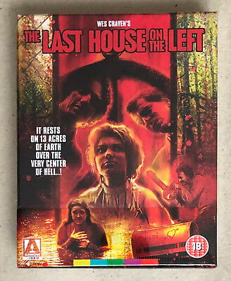 The Last House On The Left * Limited Edition Blu Ray * Bn&M * Wes Craven * Arrow