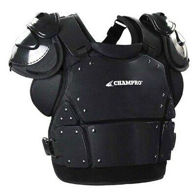 (Medium/33cm ) - Champro Pro-Plus Umpire Chest Protector Plate Armour Baseball