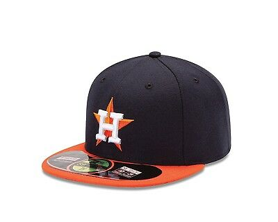 (Houston Astros, 7 3/8) - New Era MLB Road Authentic Collection On Field