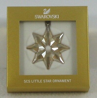 SWAROVSKI 2013 SCS member only LITTLE star ornament FIRST IN SERIES new in box!