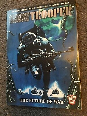 Rogue Trooper 2000ad The Future If War Graphic Novel