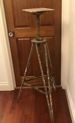 Vintage Alec Tiranti London Sculpture Modelling Stand Large Industrial