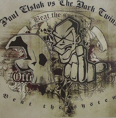 """12"""" Paul Elstak Vs. The Dark Twins Beat The System Offensive Records OFF032 2009"""