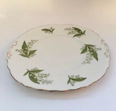 Royal Vale Serving Plate - Ridgeway Potteries Ltd Lily Of The Valley Bone China
