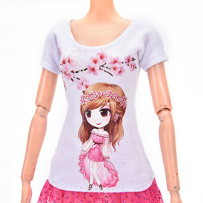 Beautiful DollSuit Handmade Party Clothes For  Noble Doll Best Gift PLF