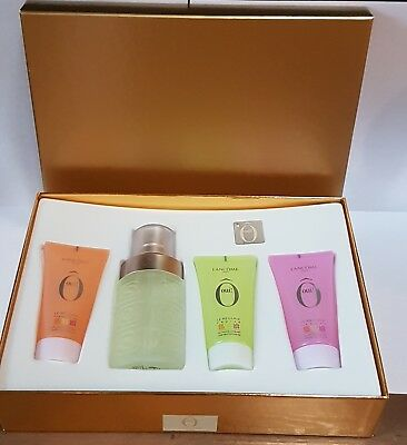Lanncome O oui EDT 75ml + 3 different scents  shower Gel 50ml  New