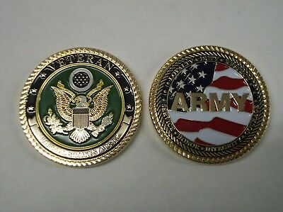 United States Army Veteran Challenge Coin