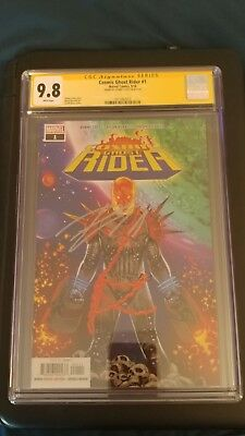 Cosmic Ghost Rider #1 CGC SS 9.8 NM/MT Signed Donny Cates Thanos Marvel