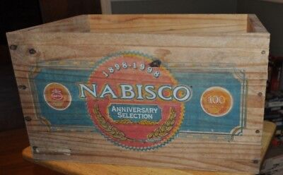 Nabisco National Biscuit Company 200th Anniv. Collection Wooden Box