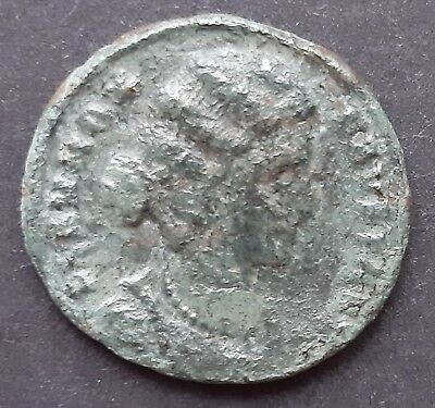 Roman bronze coins. Fausta, wife of Constantine I the Great.