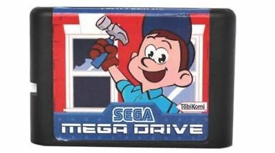 Game Fix Felix Jr 16 Bit Card Sega Md Genesis Mega Drive Retail Cartridge