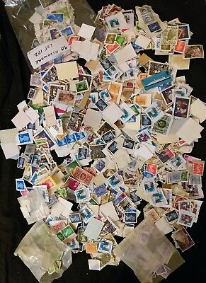 Bag GB Kiloware Collection of Stamps 229 gms Large Quantiy
