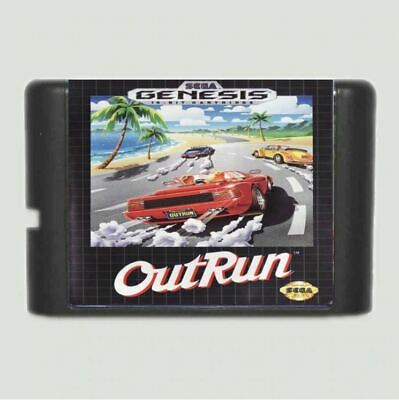 Outrun 16 bit MD Game Card For Sega Mega Drive For Genesis