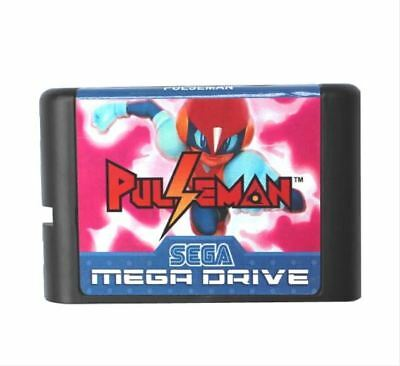 Pulseman (Pulse Man) 16 bit MD Game Card For Sega Mega Drive For Genesis