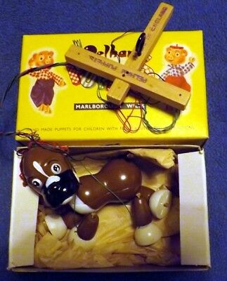 PELHAM PUPPETS Bengo 1950/60's Boxed with instruction sheet ~Vintage