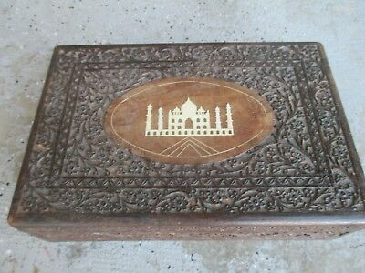 VINTAGE punwani  INDIAN  INLAY   BOX