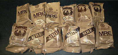 MRE Meal ready to eat  12 Stück