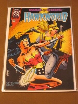 Hawkworld #16 Vf/nm Hawkman War Of The Gods Wonder Woman Vs Hawkwoman Ostrander
