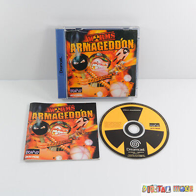 Worms Armageddon - Boxed & Manual - GOOD CONDITION - Sega Dreamcast Game PAL