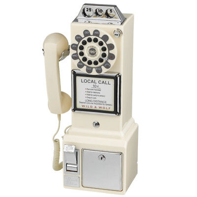 1950s White American Diner Phone