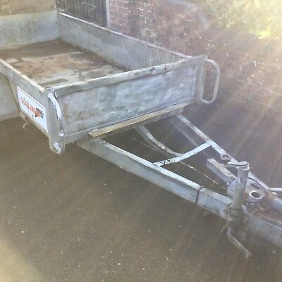 Indespension challenger Twin Axle Mini Digger Trailer ramp general purpose
