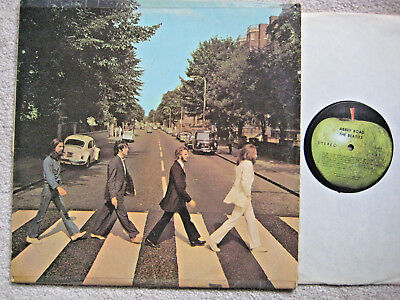 Lp Record: The Beatles: Abbey Road (Vg)