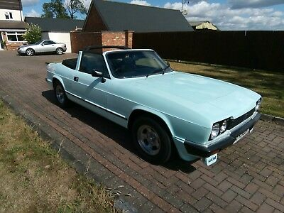 1981 Reliant Scimitar Gtc Manual With O/d Hard/soft Tops 48000 Miles From New