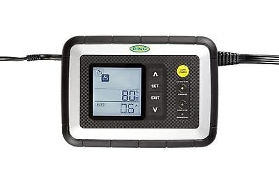 Ring RSC608 8A Smart Battery Charger, 12V Vehicles To 3.0L, All Battery Types,