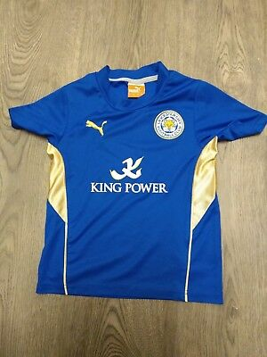 Leicester City Home Football Shirt 2013-2014 Age Uk 3-4 Years