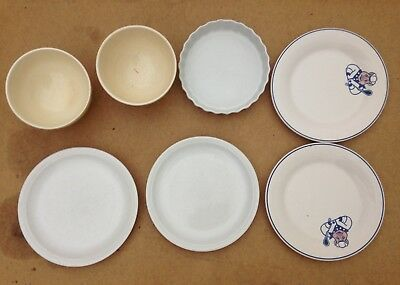 Joblot Plates and bowls, ceramic