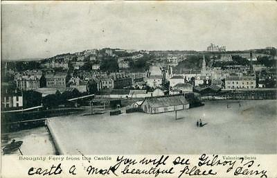 Printed Postcard Broughty Ferry From The Castle, (Near Dundee), Angus, Scotland