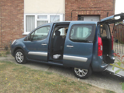 Citroen Berlingo Multispace Plus 1.6HDI 2012 Wheelchair Access Vehicle WAV