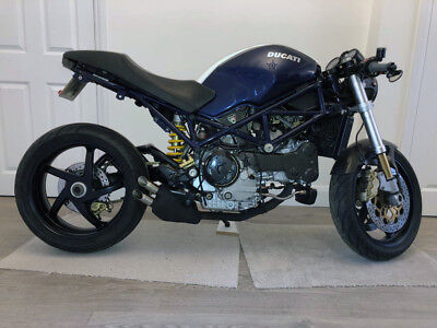 S4R Ducati Monster Blue/White 7092 Miles+Belts @ 6424 Miles EXCEPTIONAL EXAMPLE