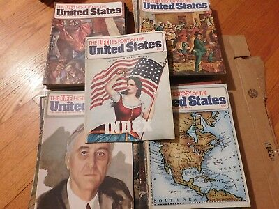 The Life History of the United States in 65 Weekly Parts Magazine complete set