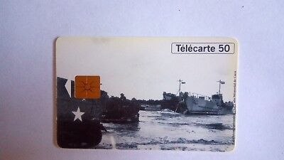 French Phonecard Telecarte 50Th Anniversary Of Liberation Of France France