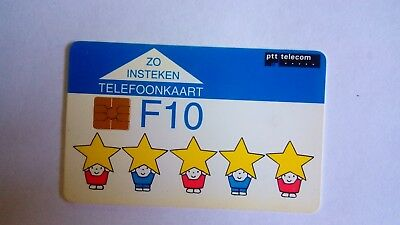 Holland Netherlands Dutch Ptt Phonecard