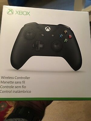 xbox one wireless controller new black