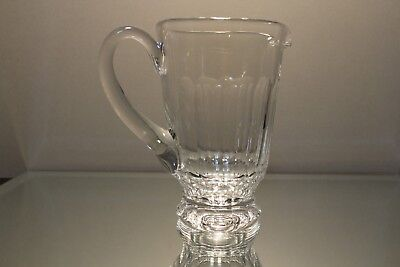Waterford Crystal Sheila Cut Glass Juice Beverage Iced Tea Pitcher 32 ounce