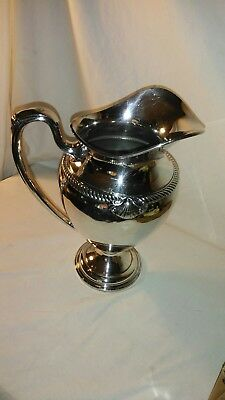 Admiral International Silverplate 1940 Halloware Pitcher