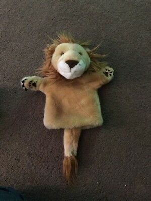 The Puppet Company Lion Hand Puppet CarPets